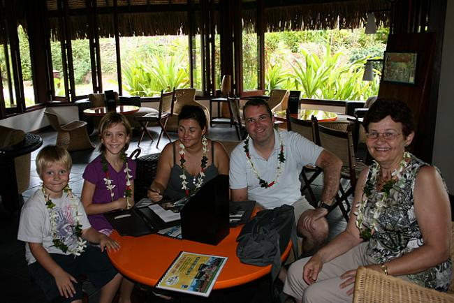 Check-in Sofitel Moorea