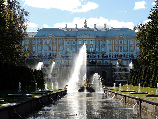 Peterhof Saint-Petersburg, Russia