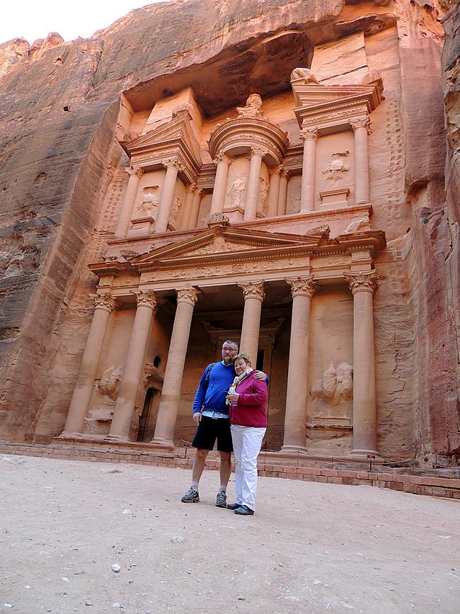 De schatkamer van Petra - The Treasury