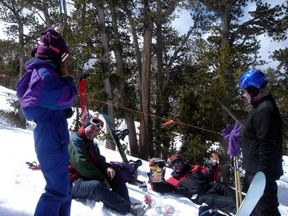 Heavenly ski