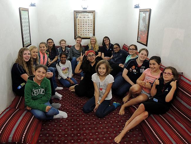 Al Safa Guides at SMCCU