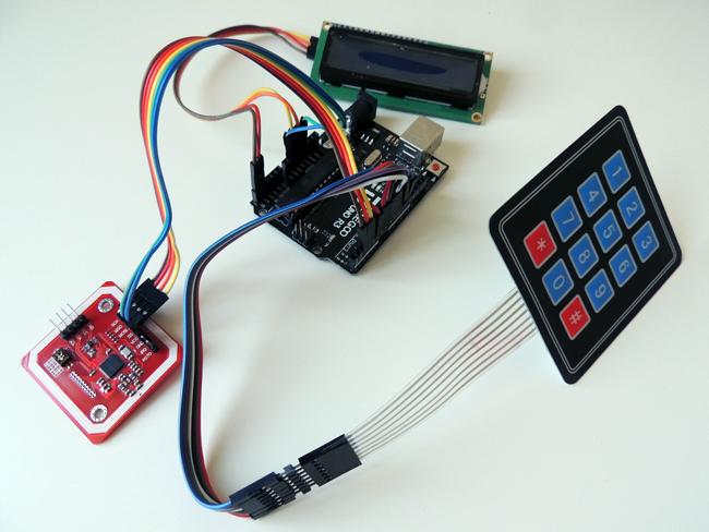 Arduino en gebruikte componenten en modules