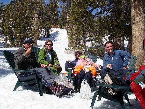 Peter, Kristel, Sherry, Roos en Jan