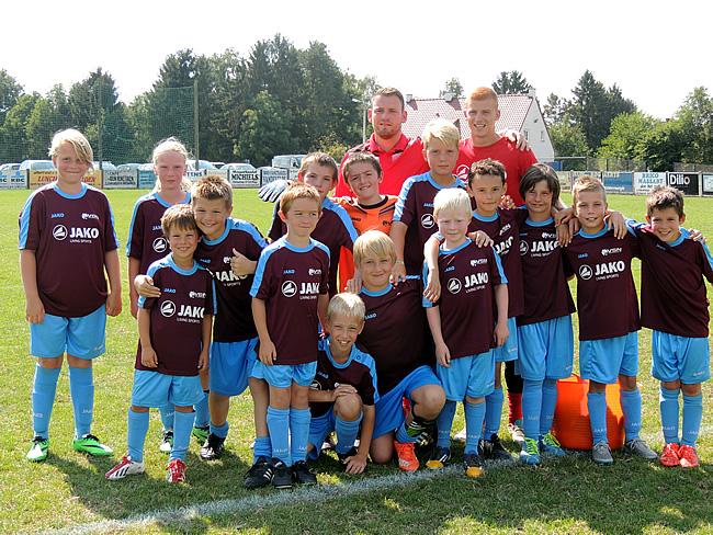 Groepsfoto VSN voetbalstage Glabbeek