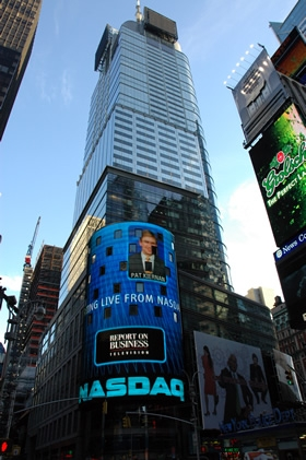 Nasdaq at Times Square