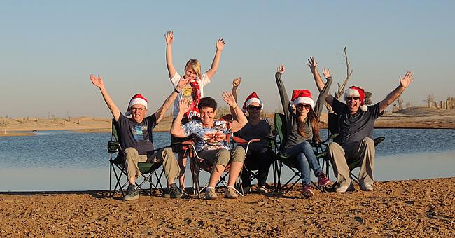 Al Qudra Lakes Christmas BBQ