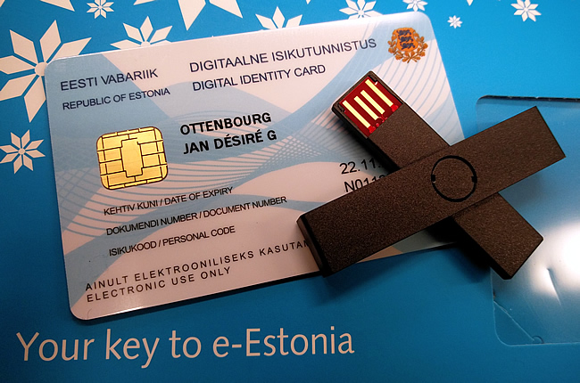 Estonian e-Resident card
