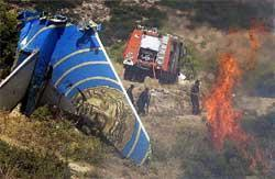 Helios B373 crash site