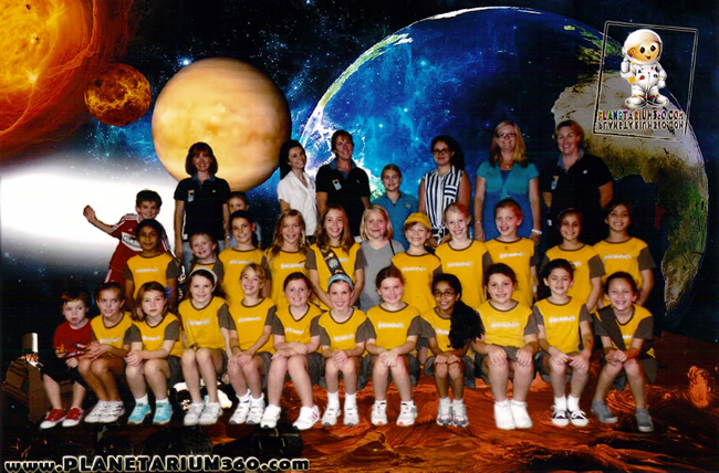 Brownies op Planetarium in Dubai