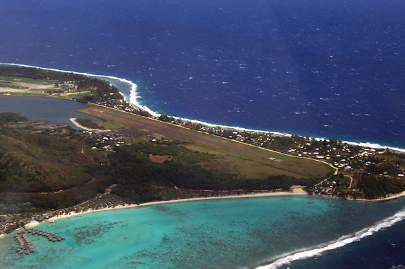 Moorea Temae luchthaven